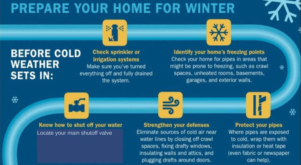 Cold Weather Tips | Mesquite, TX - Official Website