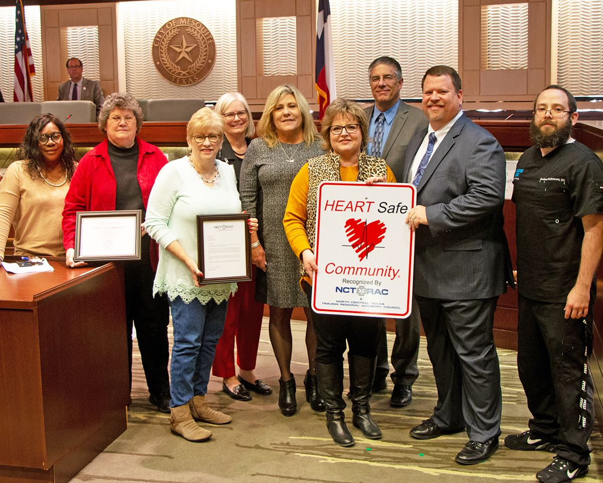 City Council Meeting - Heart Safe Community Presentation