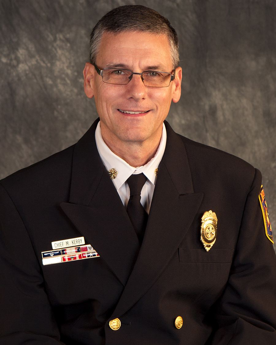 Mesquite Fire Chief Mark Kerby