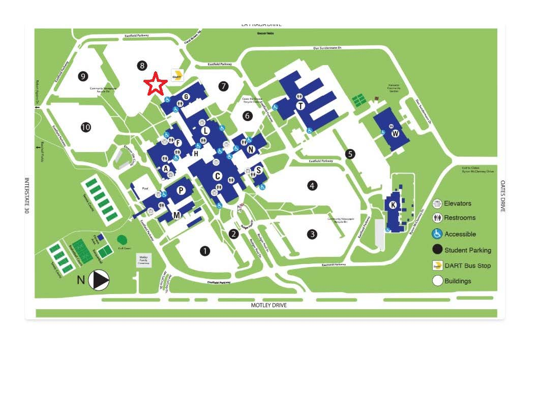 Eastfield College Campus map.pdf