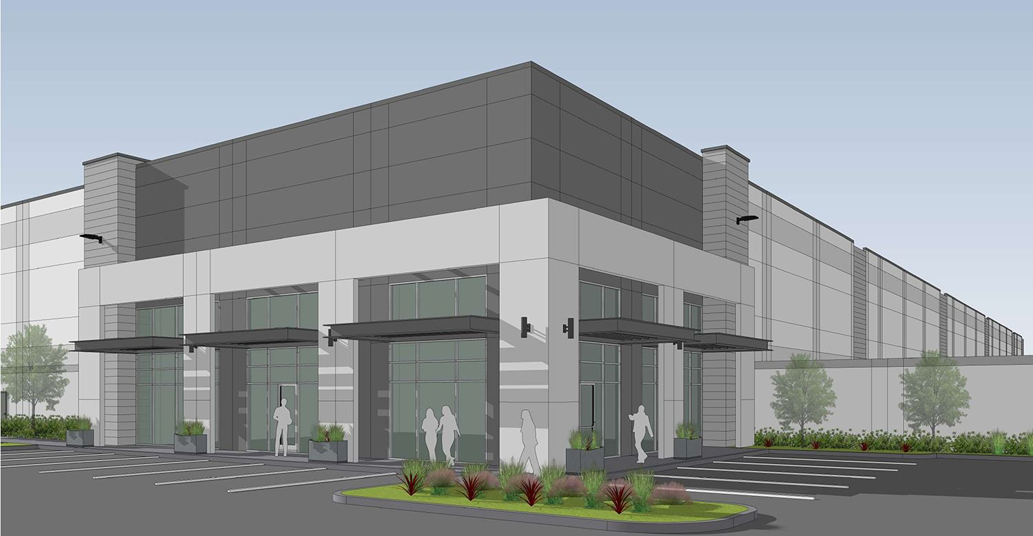 Proposed Huntington Industrial Partners commercial project - Mesquite TX