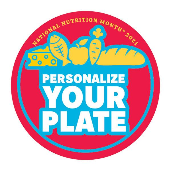 National Nutrition Month 2021 Logo - All Foods