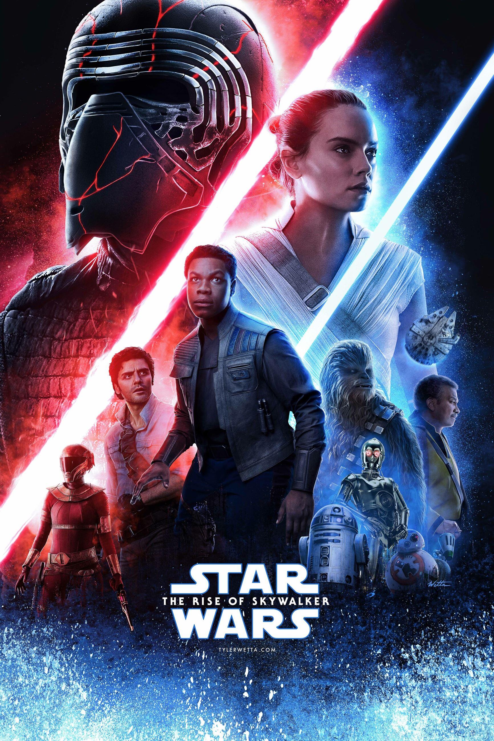 Star Wars Rise of Skywalker Movie Poster
