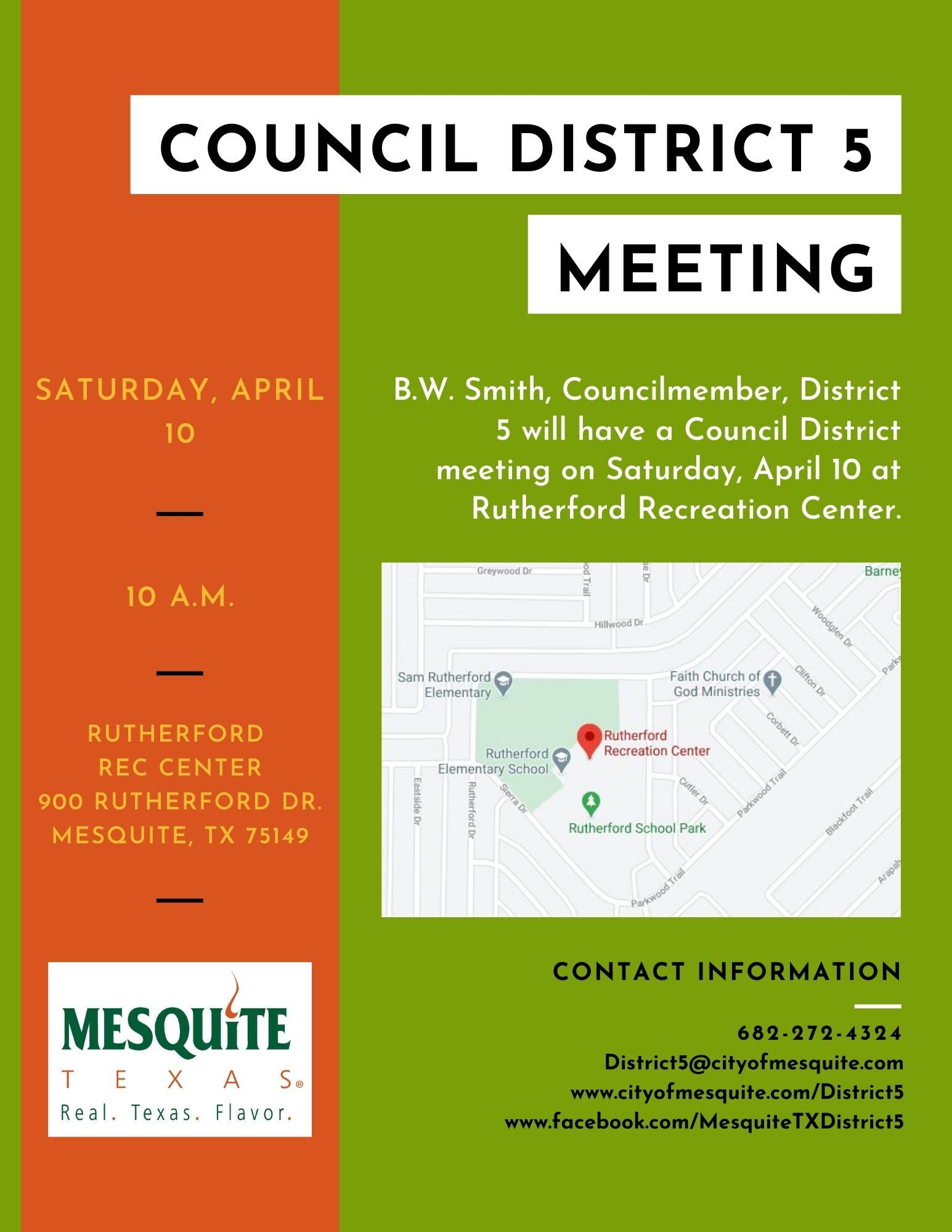 B.W. Smith District 5 meeting flyer (3)