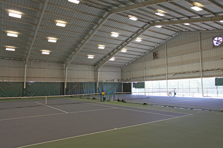 Covered Tennis Courst