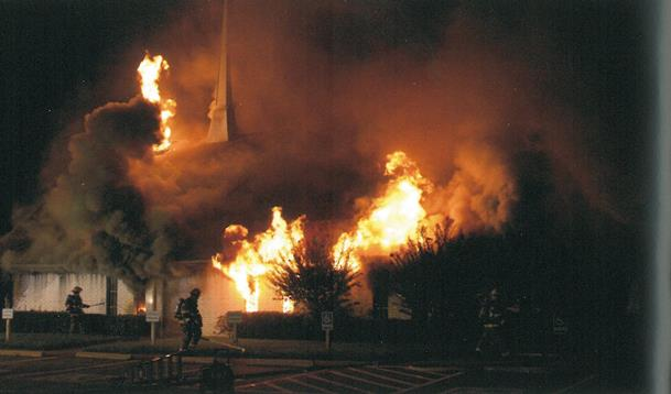 Calvary Baptist Church Fire