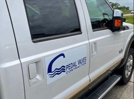 Pedal Valves truck
