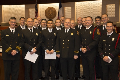 Mesquite Fire Department Awards