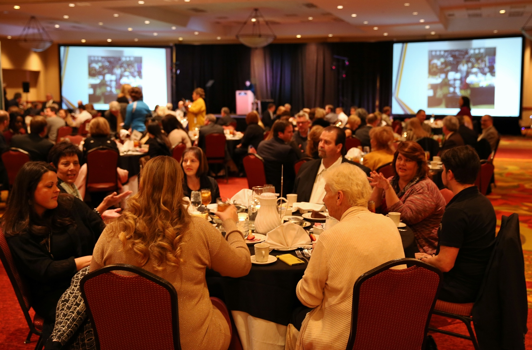 Chamber of Commerce dinner