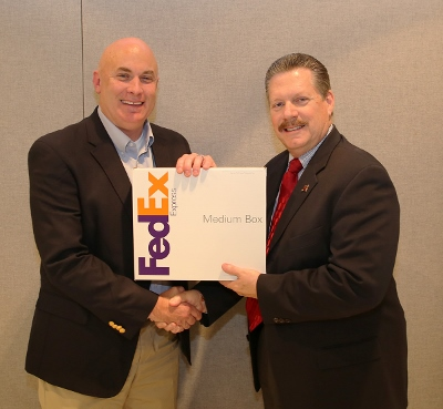 FedEx Managing Director Brian St Clair-Mesquite Mayor Stan Pickett (400x369).jpg