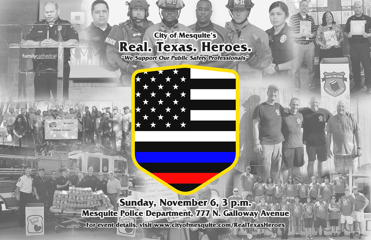 Real texas heroes invitation