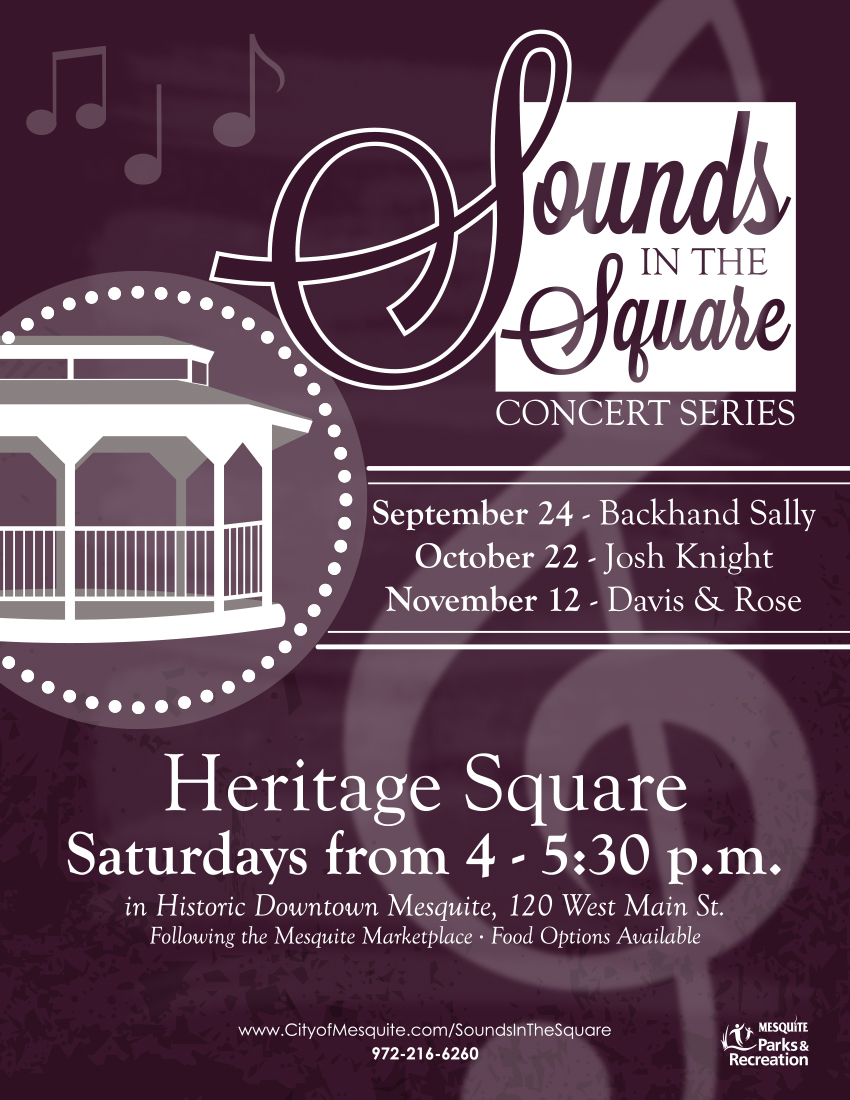 Sounds in the Square concerts