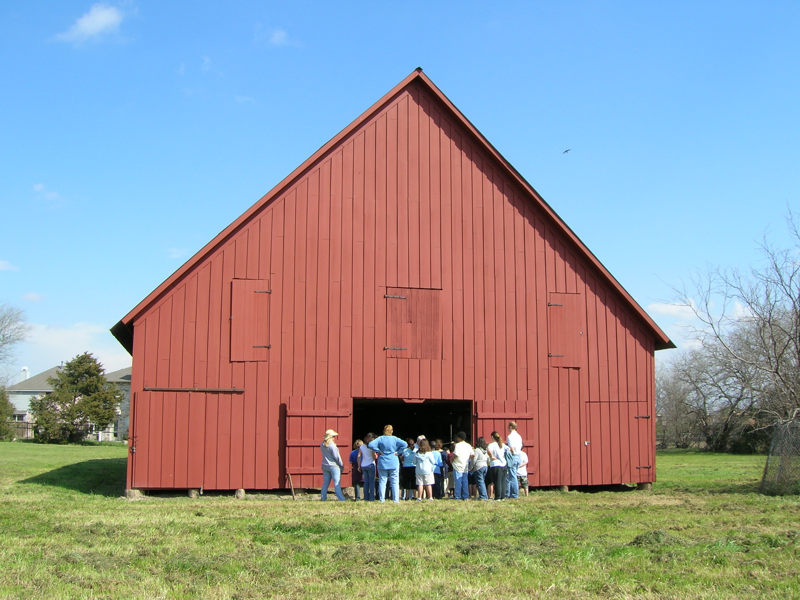 Mesquite red barn